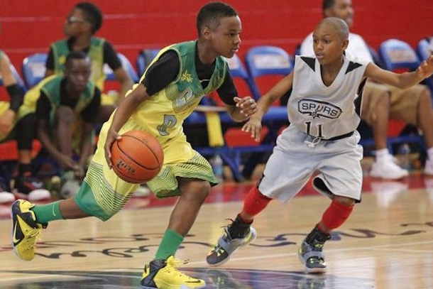lebron james jr basketball