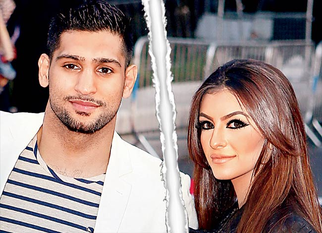 amir khan girlfriend