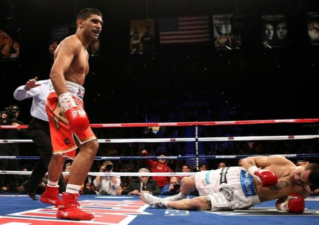 amir khan height weight