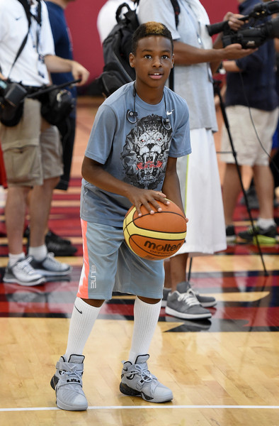 lebron james jr height weight