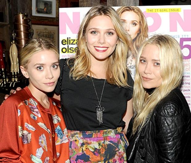 Elizabeth Olsen and her sisters