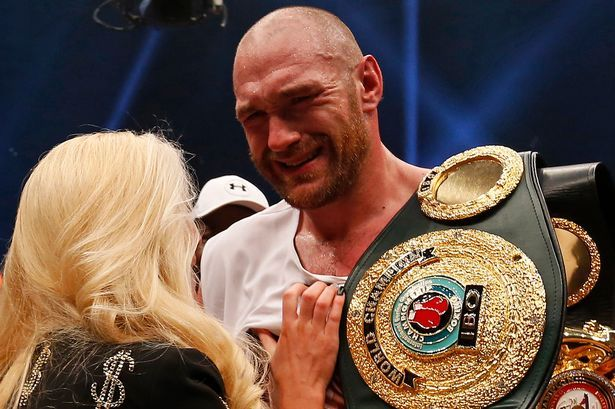 Tyson Fury Height Weight Girlfriend Salary Net Worth