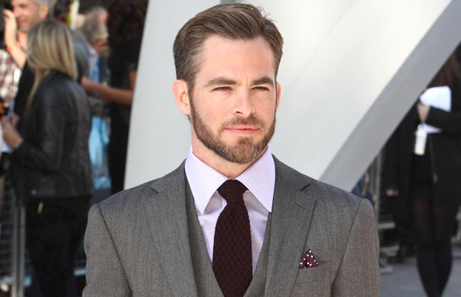 Chris Pine Height