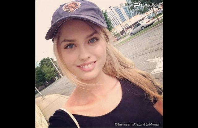 Alexandria Morgan Height Weight Body Measurements